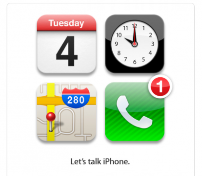 Let's talk iPhone. Parliamo dell'iPhone