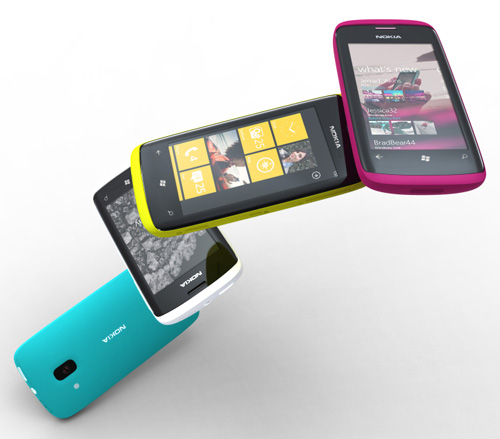 Il prototipo del Nokia con Windows Phone 7