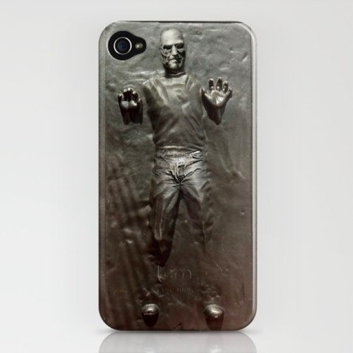 Cover iPhone: Steve Jobs intrappolato nella carbonite